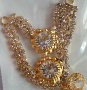 Necklace White Stones