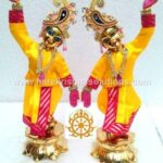 GauraNitai 12 inches Yellow 2